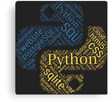 Python Programmer & Developer T-shirt & Hoodie NEW Canvas Print