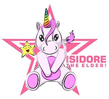 Isidore the Unicorn by eaRaccoon