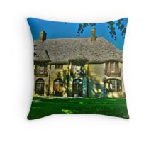 Glitter That Was Once Gold - Scully Mansion Throw Pillow