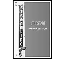 #TheStart (Black+White Edition) Photographic Print
