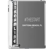 #TheStart (Black+White Edition) iPad Case/Skin