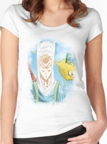 Dragon Ball Z Mix Women's Fitted Scoop T-Shirt