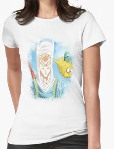 Dragon Ball Z Mix Womens Fitted T-Shirt