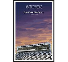 #Speedweeks Photographic Print