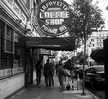 Lafayette Coffee Shop by Patrick T. Power
