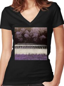 Sweet Summery Scent  Women's Fitted V-Neck T-Shirt
