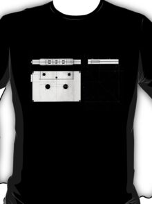 Cassette Tape Projection T-Shirt