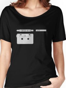 Cassette Tape Projection Women's Relaxed Fit T-Shirt