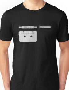 Cassette Tape Projection Unisex T-Shirt