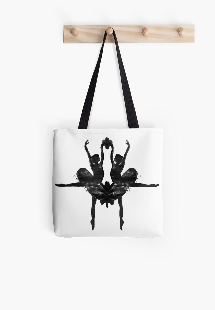 Rorschach Ballerina by Rem N