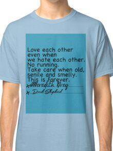 MerDer Post-it Classic T-Shirt