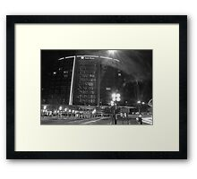 Park plaza Hotel Framed Print