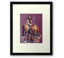 Way Of The Warrior  Framed Print