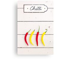 Chili Canvas Print