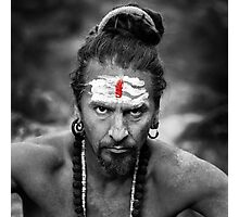 Serious Yogi Photographic Print