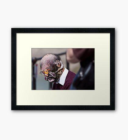 One Old Bird Framed Print