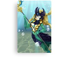 Deepsea Mermaid Canvas Print