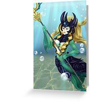 Deepsea Mermaid Greeting Card