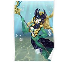 Deepsea Mermaid Poster