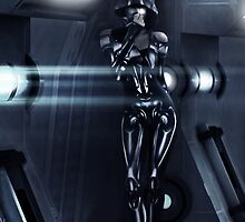 Cylon | Hallway by jeffiedotcom