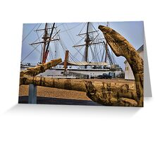 Cork Anchor Greeting Card