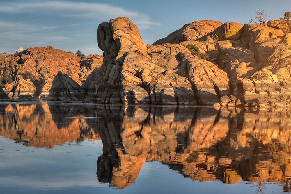 Granite Rorschach by Bob Larson