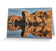 Granite Rorschach Greeting Card
