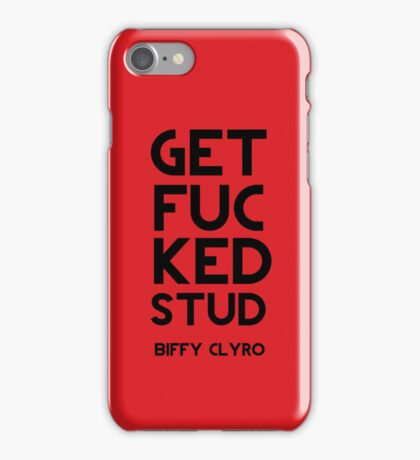 Get Fucked Stud iPhone Case/Skin