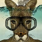 Skuba Roo and the white mouse by Vin  Zzep