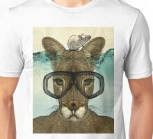 Skuba Roo and the white mouse Unisex T-Shirt