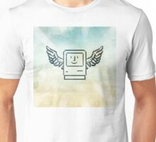 pixel mac with wings Unisex T-Shirt