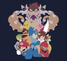 Nintendo Collage  Kids Tee