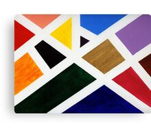 Anne's Abstract  Canvas Print
