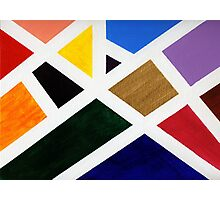 Anne's Abstract  Photographic Print