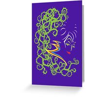 Poison Thorn Greeting Card
