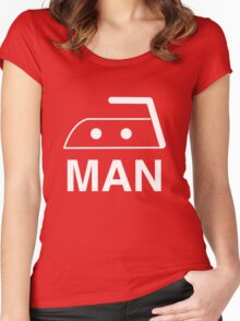 Iron Man Women's Fitted Scoop T-Shirt
