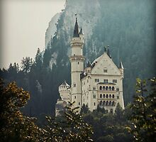 Neuschwanstein Castle in Color by Kaitlin Kelly