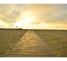 End of the Line for Summer Photographic Print