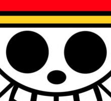 One Piece Cool Skull Sticker