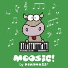 Moosic - Fun Cow playing piano by Kokonuzz