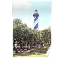 Lighthouse at St Augustine Poster