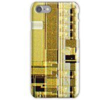 Gold Microchip iPhone Case/Skin