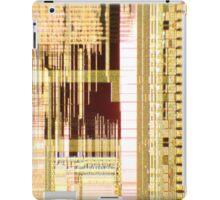 Gold Microchip  iPad Case/Skin