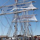 The 'Lord Nelson' Festival of Tall Ships, Port Adelaide. by Rita Blom
