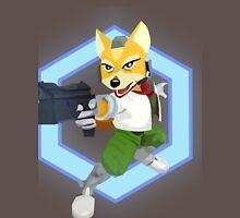 Fox - Smash Melee/Star Fox - Shine Unisex T-Shirt