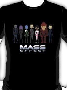 Mass Effect Cartoon - JohnShepard T-Shirt