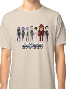 Mass Effect Cartoon - JohnShepard Classic T-Shirt