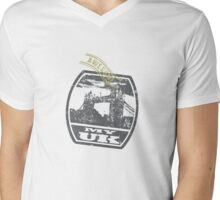 My UK -T shirt is awesome Mens V-Neck T-Shirt