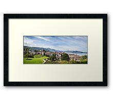 City of Zug (Central Switzerland) Framed Print