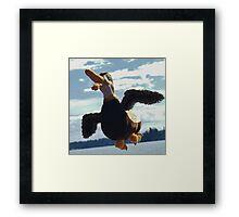 Dee Dee the duck Framed Print